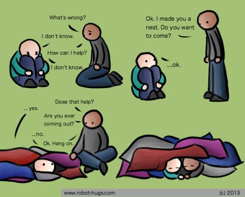 depression nest